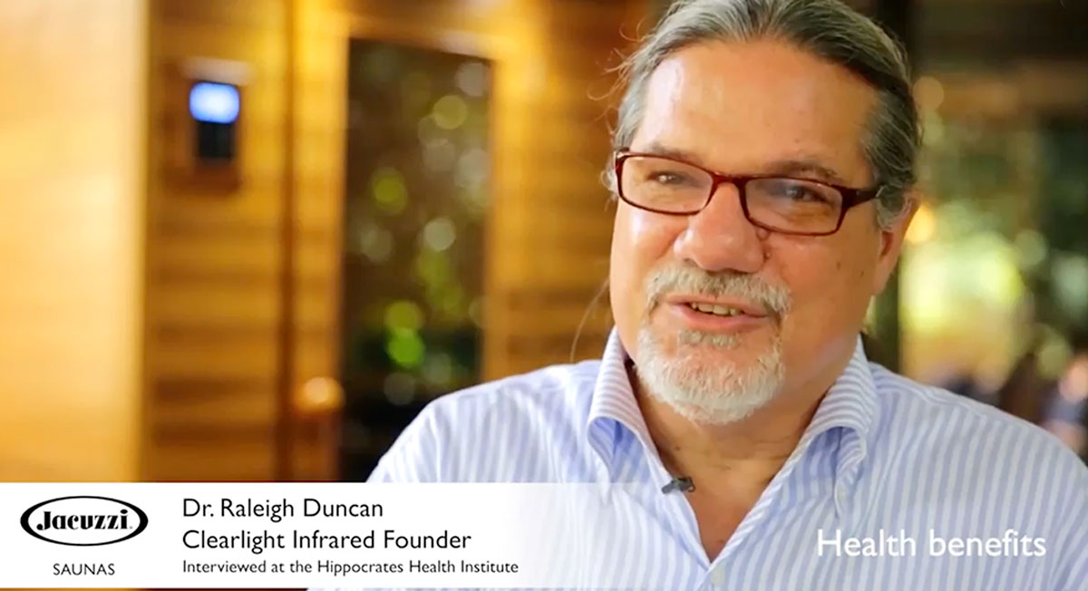 Benefits of Infrared Saunas by Doctor Raleigh Duncan