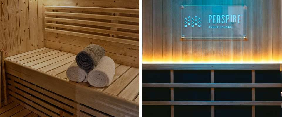 Visual difference between a traditional sauna vs infrared sauna